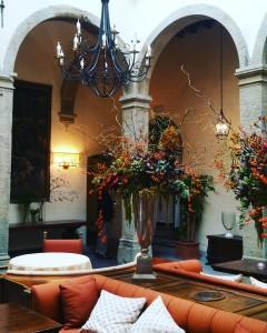 Un bellissimo angolo nell'interno Belmond Villa San Michele
