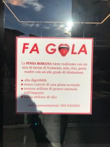 La pinsa romana e cornetti caldi, una nuova proposta alternativa più leggera e digeribile della pizza da Fa GOLA