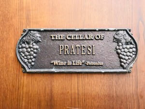 PRATESI WINERY