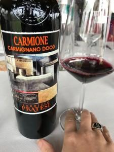 Carmione è uno dei top prodotti da Pratesi Winery