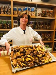 Forno Steno Tiziana Falorni con i suoi biscotti di 50 sfumature:)