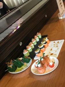 Un meraviglioso piatto di Sushi da Kome